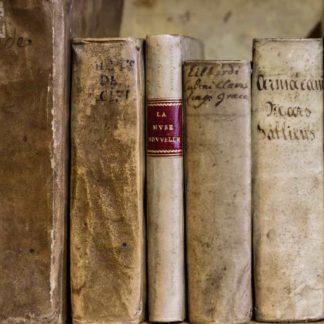 Livre ancien / avant 1900